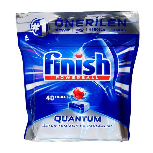 قرص ماشین ظرفشویی فنیش finishمدل Quantum بسته 40 عددی