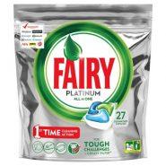 قرص ماشین ظرفشویی پلاتینوم 27 تایی فیری Fairy