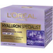 کرم لورالLOREAL هیالورون آبرسان ضد چروک روز LOreal Hyaluron Specialist HA