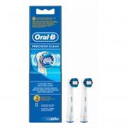 سری یدک مسواک برقی اورال بی مدل PRECISION CLEAN تعداد 2 عددی Oral-B