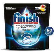 قرص ماشین ظرفشویی کوانتوم 64 تایی لیمویی مدل Ozel Seri فینیش (Finish)