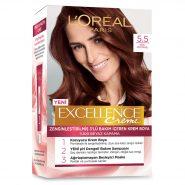 کیت رنگ مو لورآل قهوه ای چوبی سری EXCELLENCE شماره 5.5
