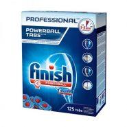 قرص ماشین ظرفشویی فینیش پاوربال مدل Professional بسته 125 عددی