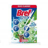 ضد عفونی کننده و خوشبو کننده توپی-BREF -دوقلو مخصوص توالت فرنگی کاج برف (Bref)