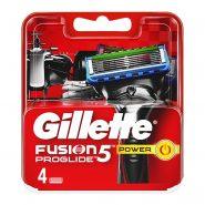 تیغ یدک 4 عددی ژیلت فیوژن 5 | gillette fusion5 power