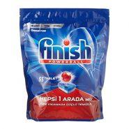 قرص ماشین ظرفشویی فینیش Hepsi 1 arada بسته 55 عددی