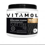 پودر دکلره ی نیم کیلویی ویتامول مدلVITAMOL BLACK POWDER