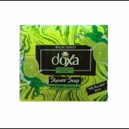 صابون حمام دوکسا DOXA رایحه لیمو و نعناع بسته 4 عددی 600 گرم
