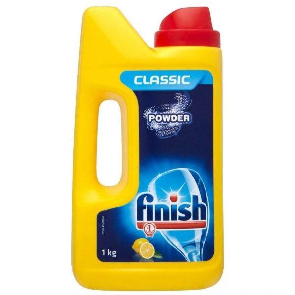 پودر ماشین ظرفشویی فینیش finish کلاسیک لیمویی 1 کیلویی