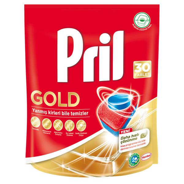 قرص ماشین ظرفشویی پریل مدل Royal بسته ۳۰ عددی